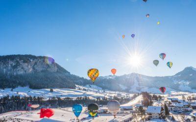 ROS Heißluftballon wieder auf Reisen